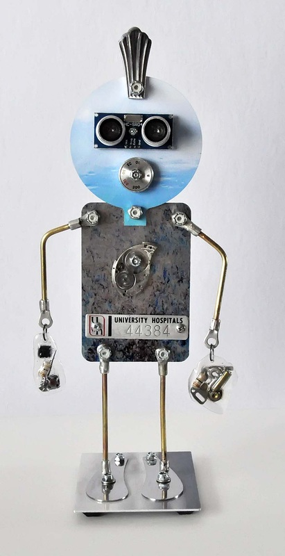 Clocks Robots And Boxes Upcycled Recycled Created By